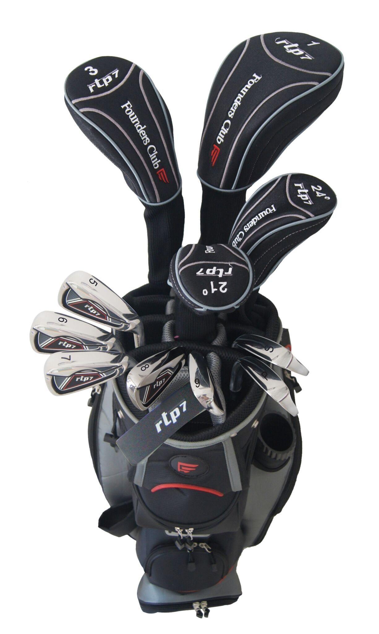 Golf Bag *** Founders Club RTP7 Black Complete Set steel
