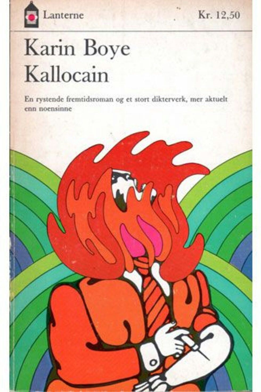 """KALLOCAIN"" Karen Boye, 1969 Lanterne (Norway) PETER HAARS cover art! Dystopian story originally published in 1940."