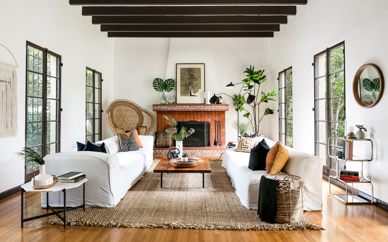 10+ Stunning Spanish Style Decorating Living Room