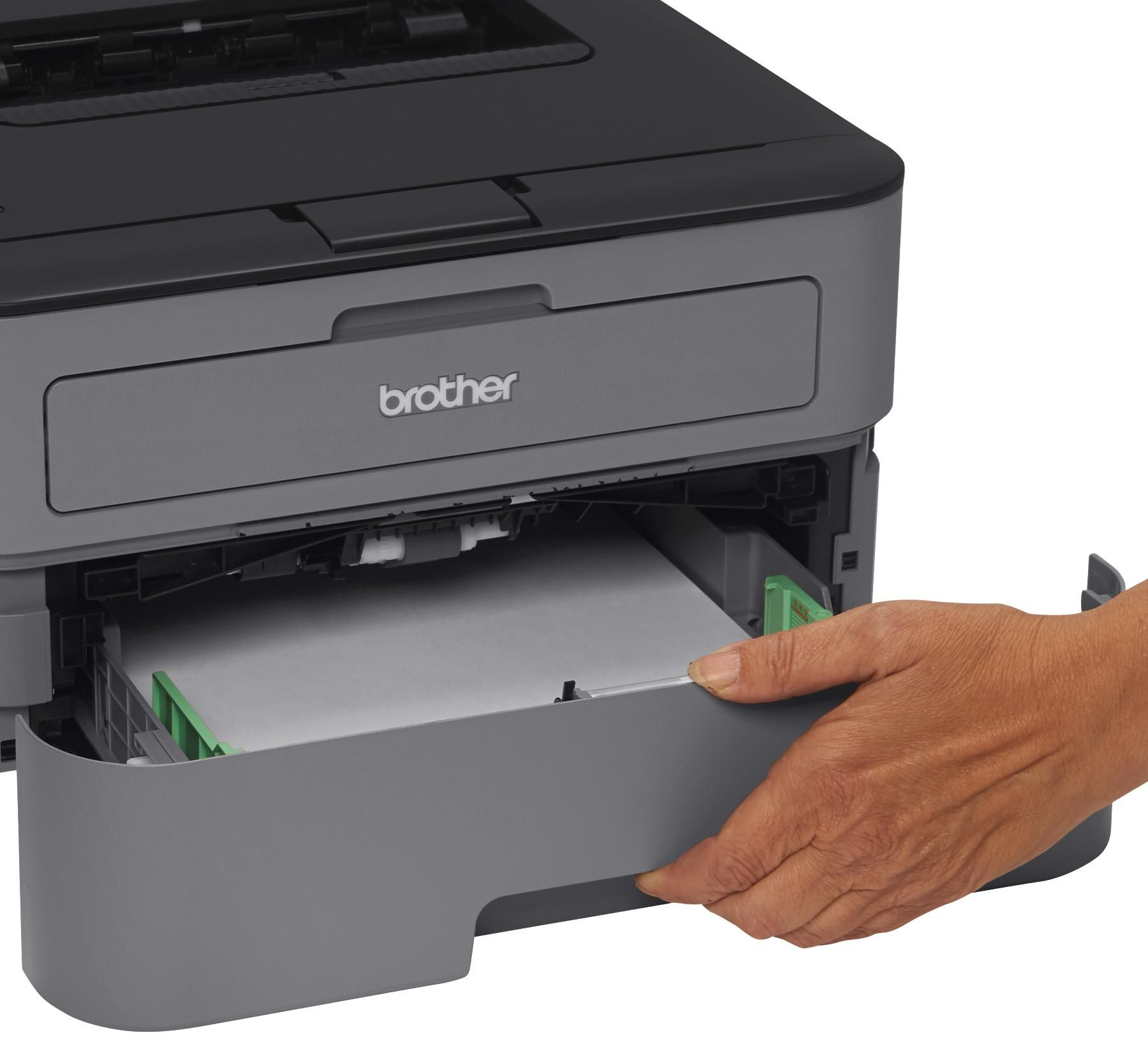 78 Amazon Com Brother Hl L2300d Monochrome Laser Printer With Duplex Printing Electronics Laser Printer Printer Paper Handling