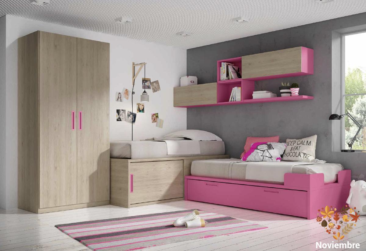 Dormitorios juveniles sencillos pero con ese toque moderno for Dormitorios juveniles cordoba