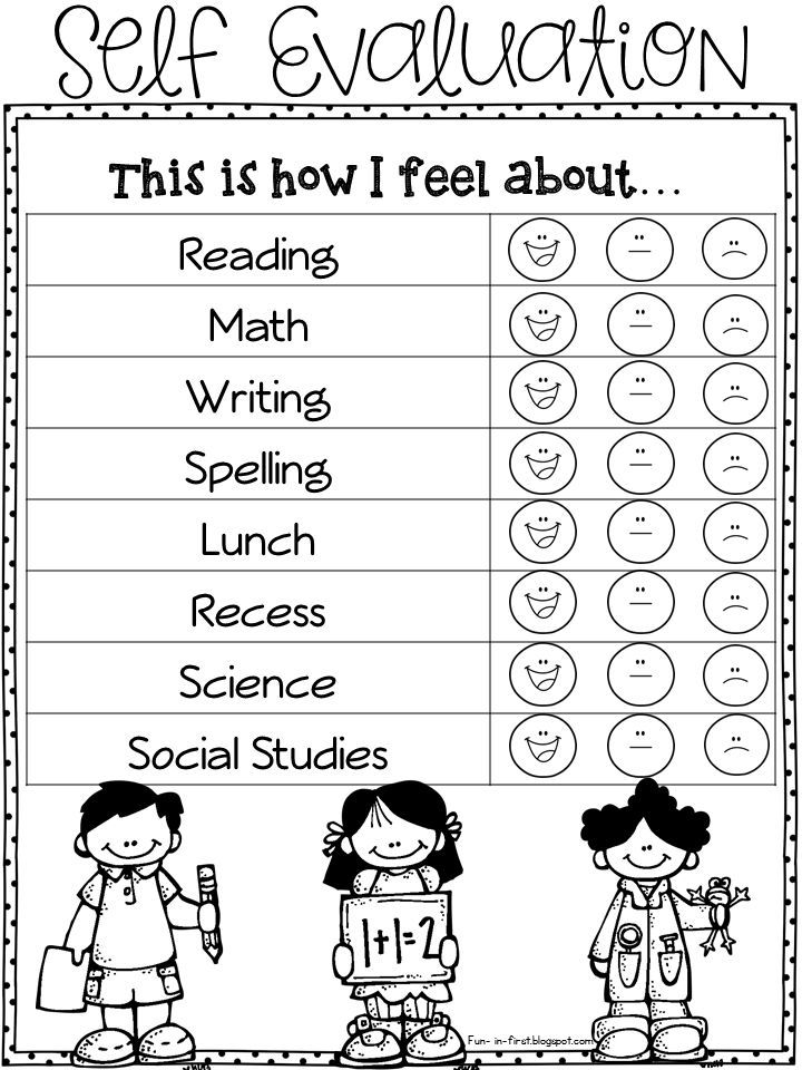 Free Assessment Resources For PreK To St Grade  Free