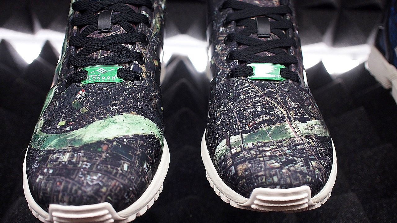official photos 3d0e6 0e746 adidas zx flux torsion city pack london underground