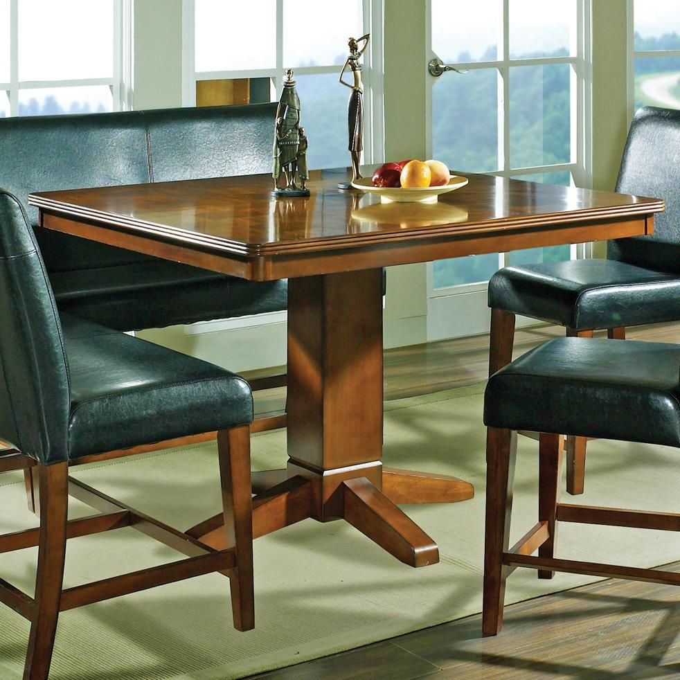 Plato Square Counter Table By Steve Silver Dining Table In Kitchen Counter Height Dining Table Counter Height Dining Table Set