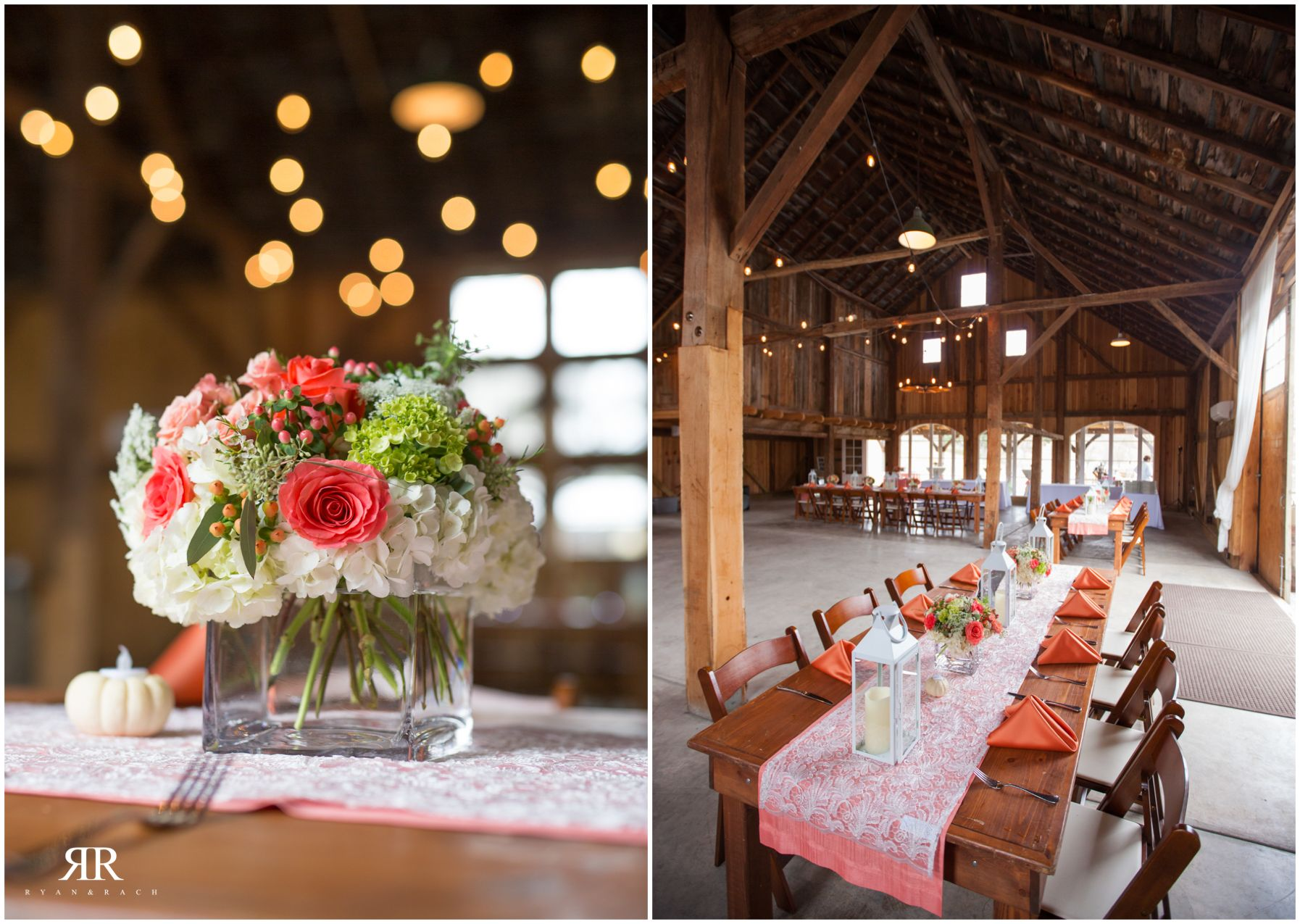 Images of wedding decor Loving all of the pretty details for this Fall rustic and glam