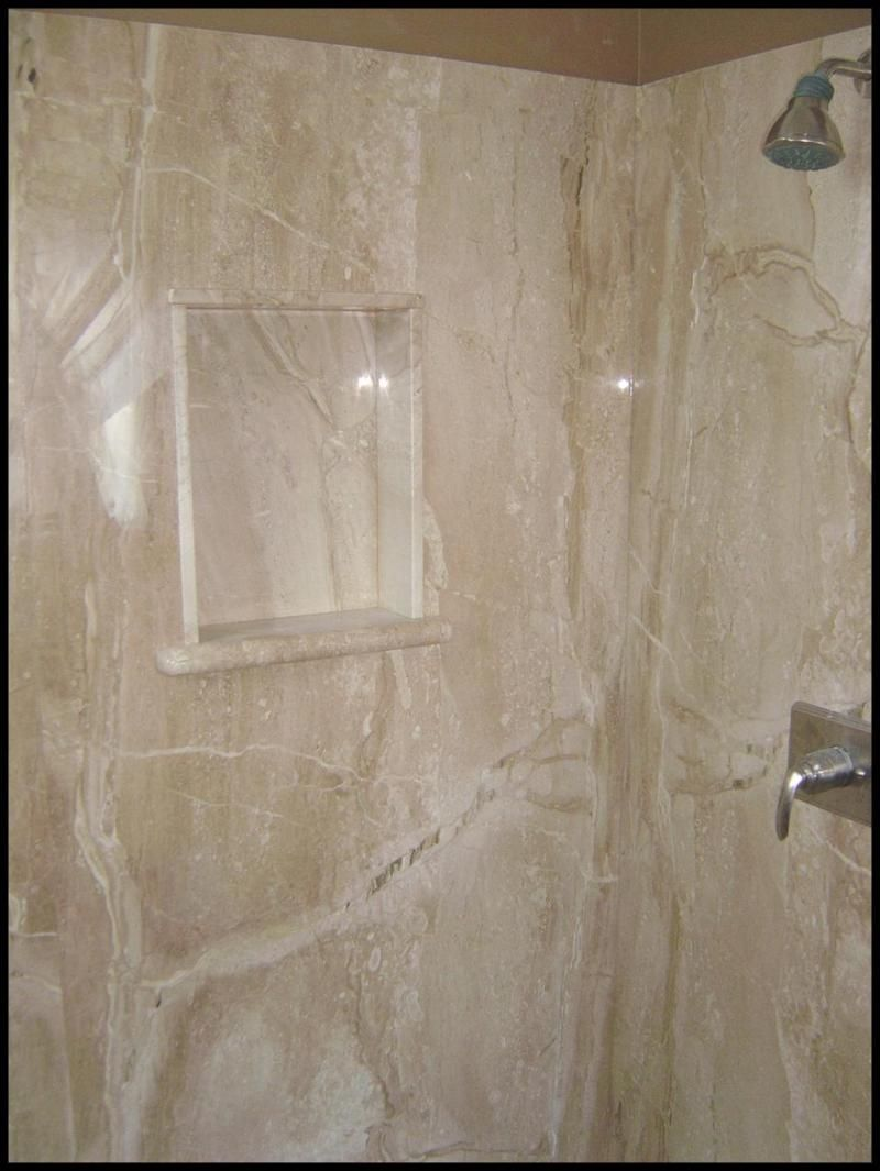 Cultured Marble Tub Surround Installation … Cultured
