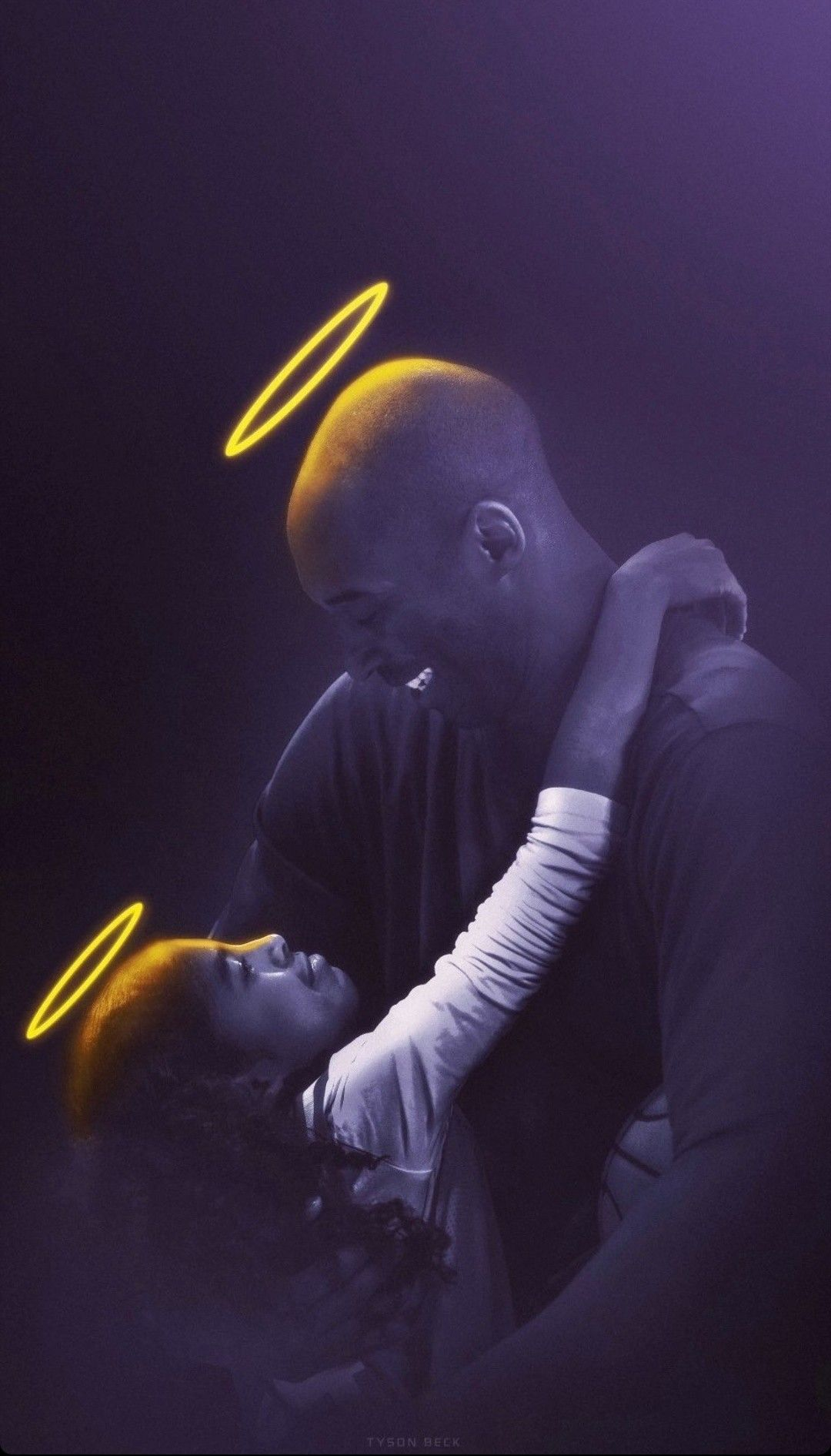 Art By Tysonbeck On Instagram Kobe Bryant And Gianna Bryant