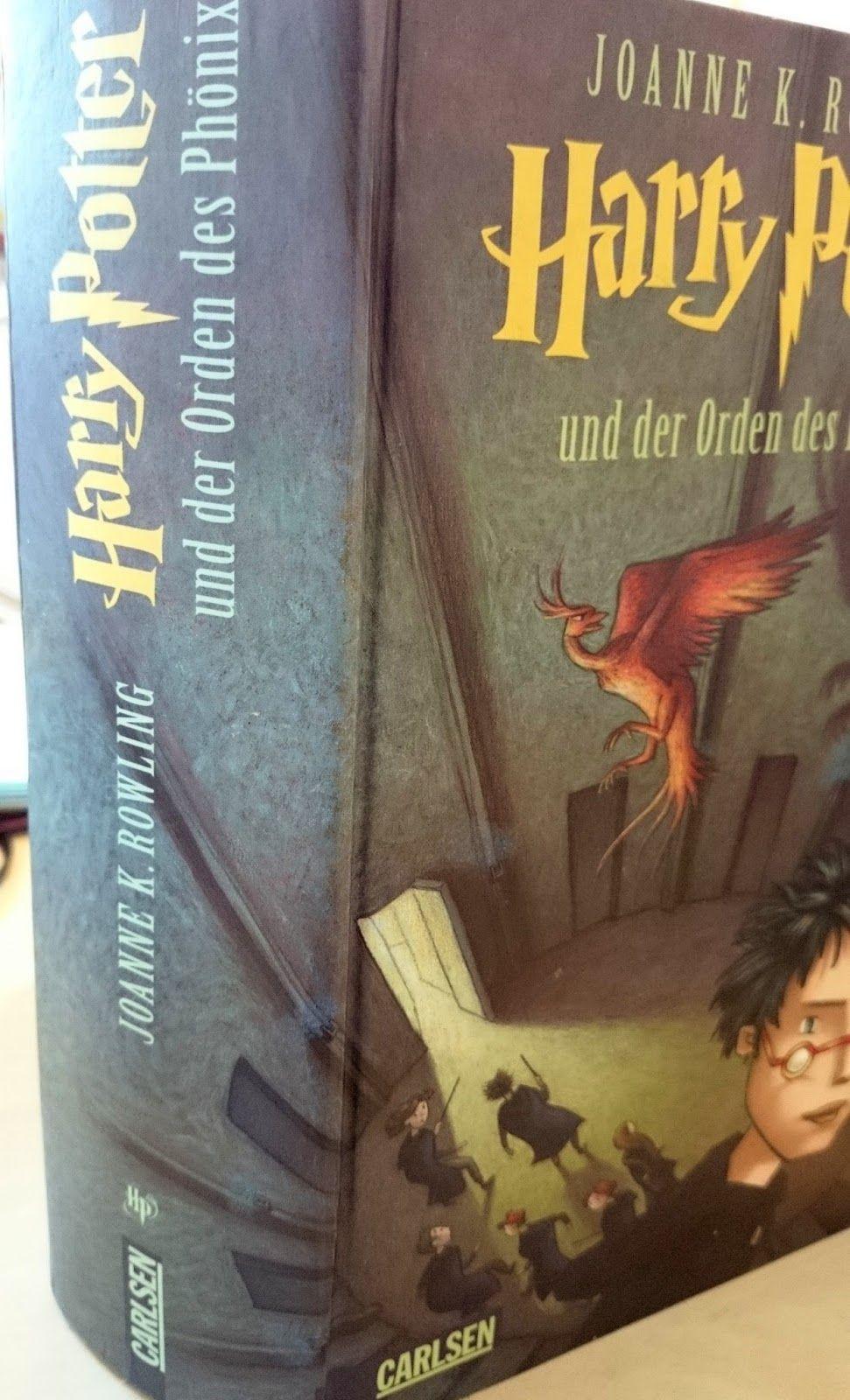 J. K. Rowling - Harry Potter und der Orden des Phönix Rezension  Luccioa: Beauty, Fashion, Literatur und Inspirationen