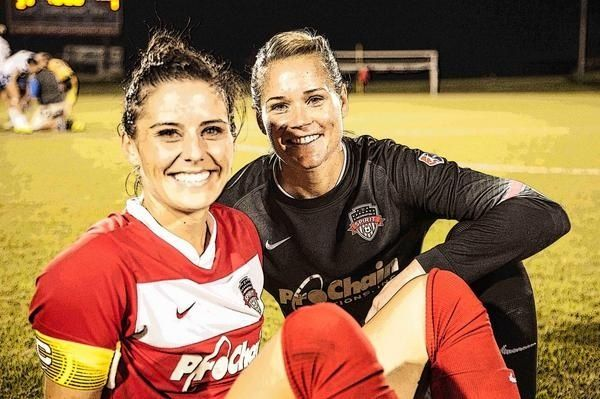 Ali Krieger  Ashlyn Harris Washington Spirit Team Nwsl  Ashlyn Harris  Ashlyn -2100