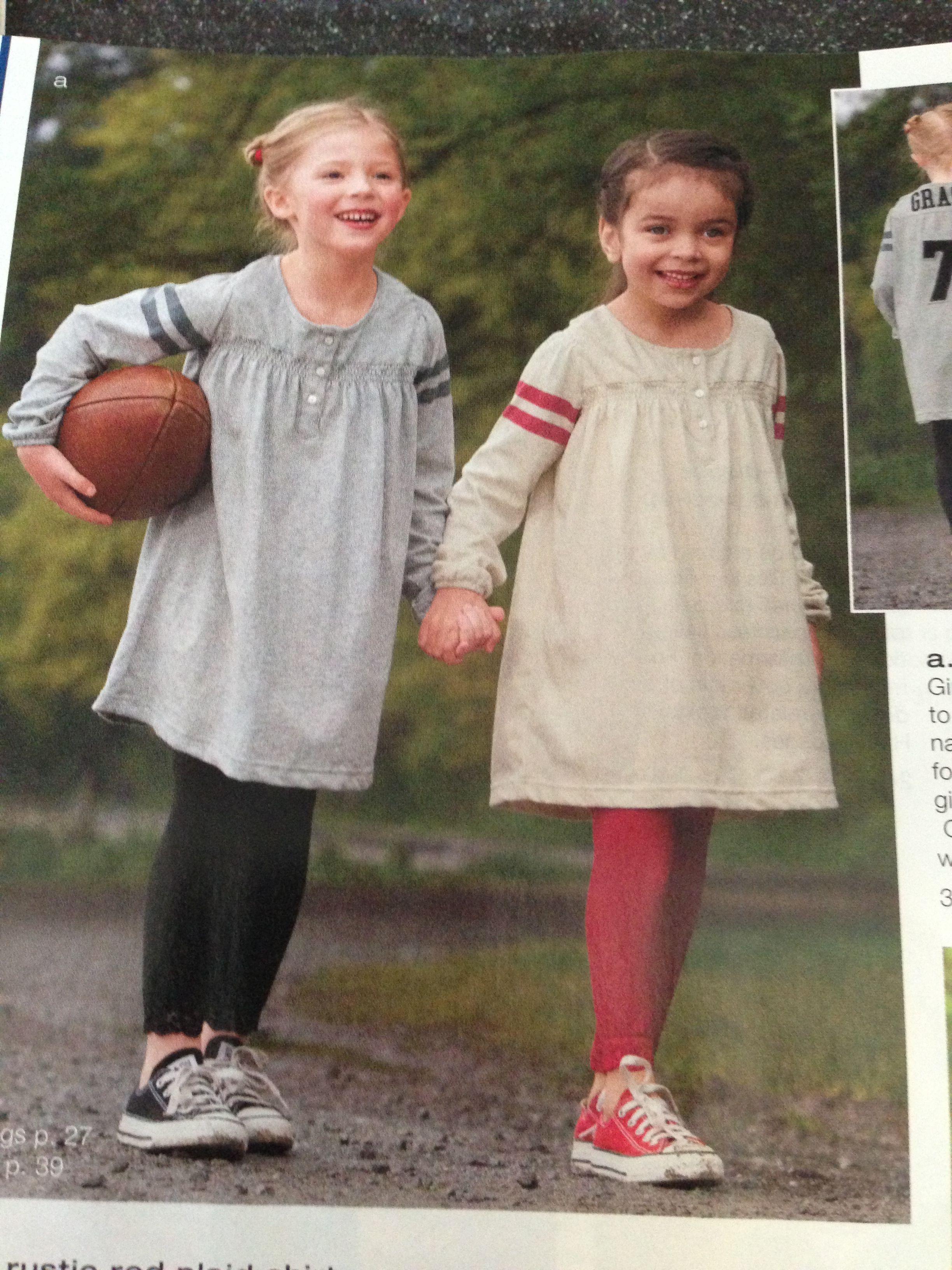 Football dresses.