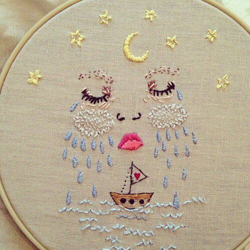 Aesthetic embroidery inspiration