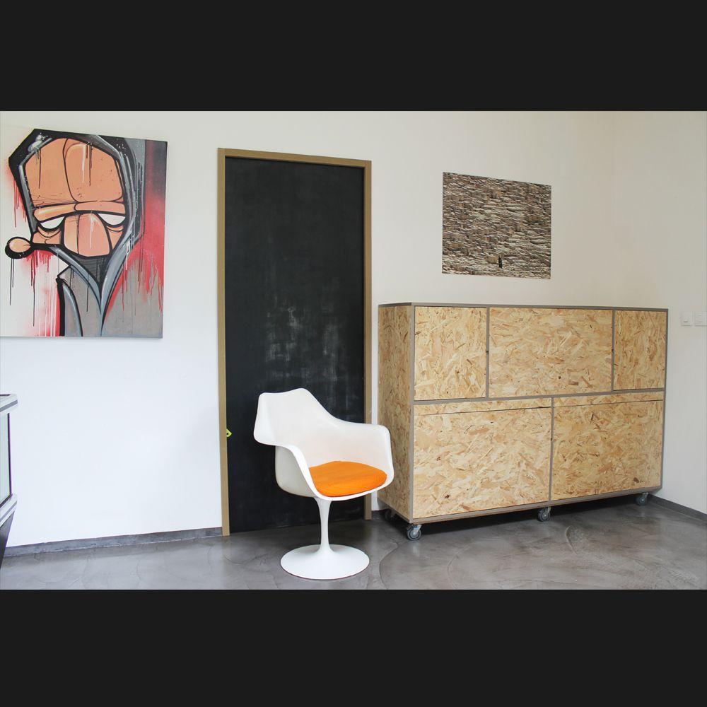 Le Vaisselier en ce qui concerne meuble osb design. le vaisselier achille, design, écologique et sur