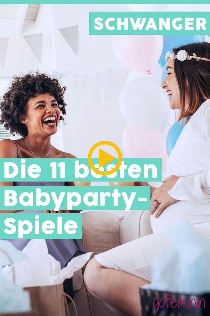 Die besten, schönsten und lustigsten Spiele für die Babyparty, damit keine Lan