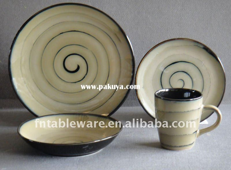 stoneware reactive glazed dinnerware set manufacturers perfect trading co sets amazon ceramic made in usa uk