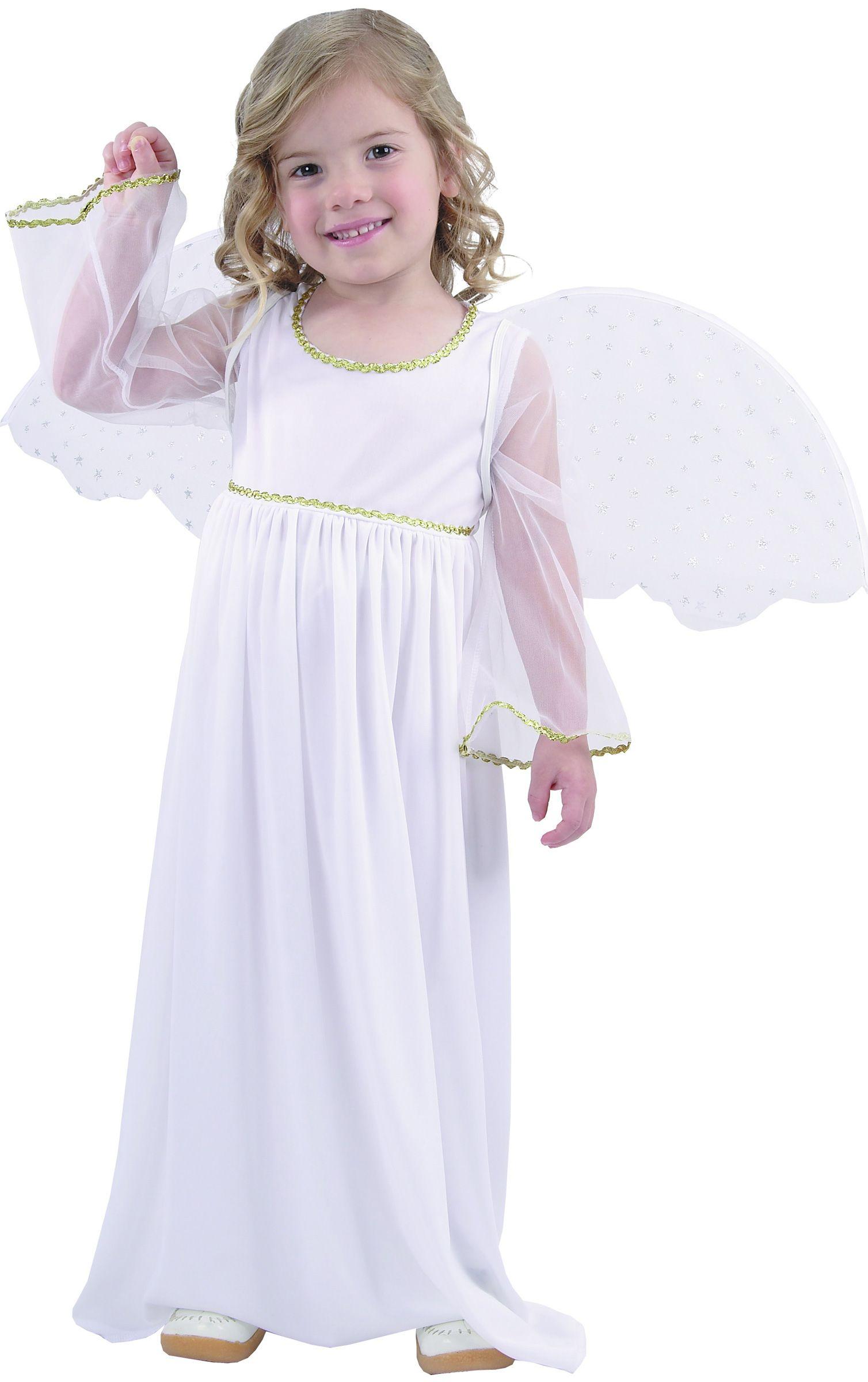 7108c7e630a75 Déguisement ange blanc fille   Deguise-toi