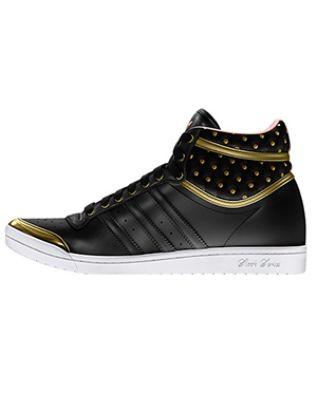 Adidas Top Ten Hi Sleek Up Shoes   ladies fly sneakers