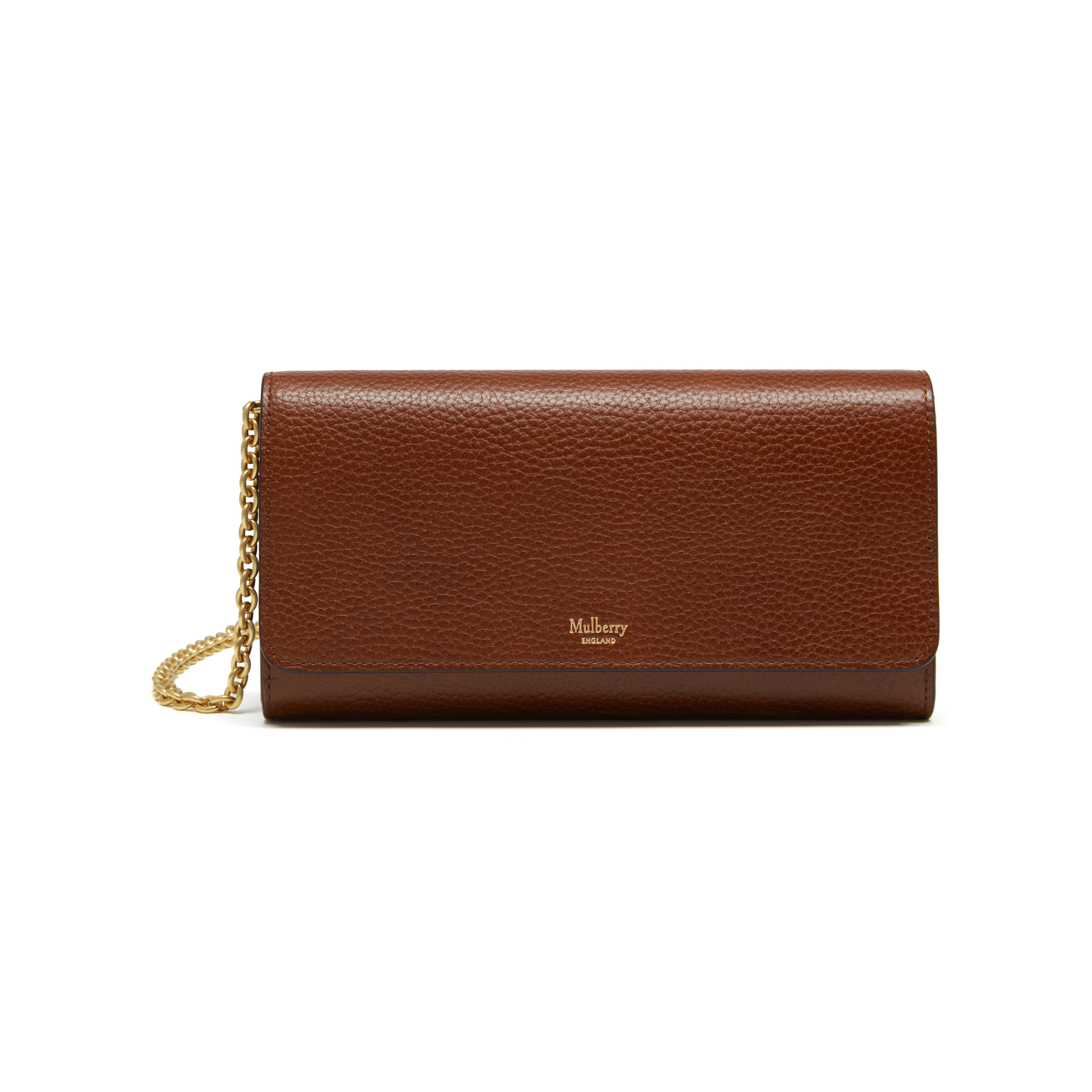 d1d712aa48 Shop the Continental Clutch in Oak Natural Grain Leather at Mulberry.com.  Introducing the new Continental Clutch