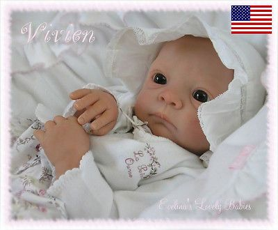 Wonderful Reborn Baby Doll Kit Quot Vivien Quot By Evelina Wosnjuk Nicky Creation Real Baby