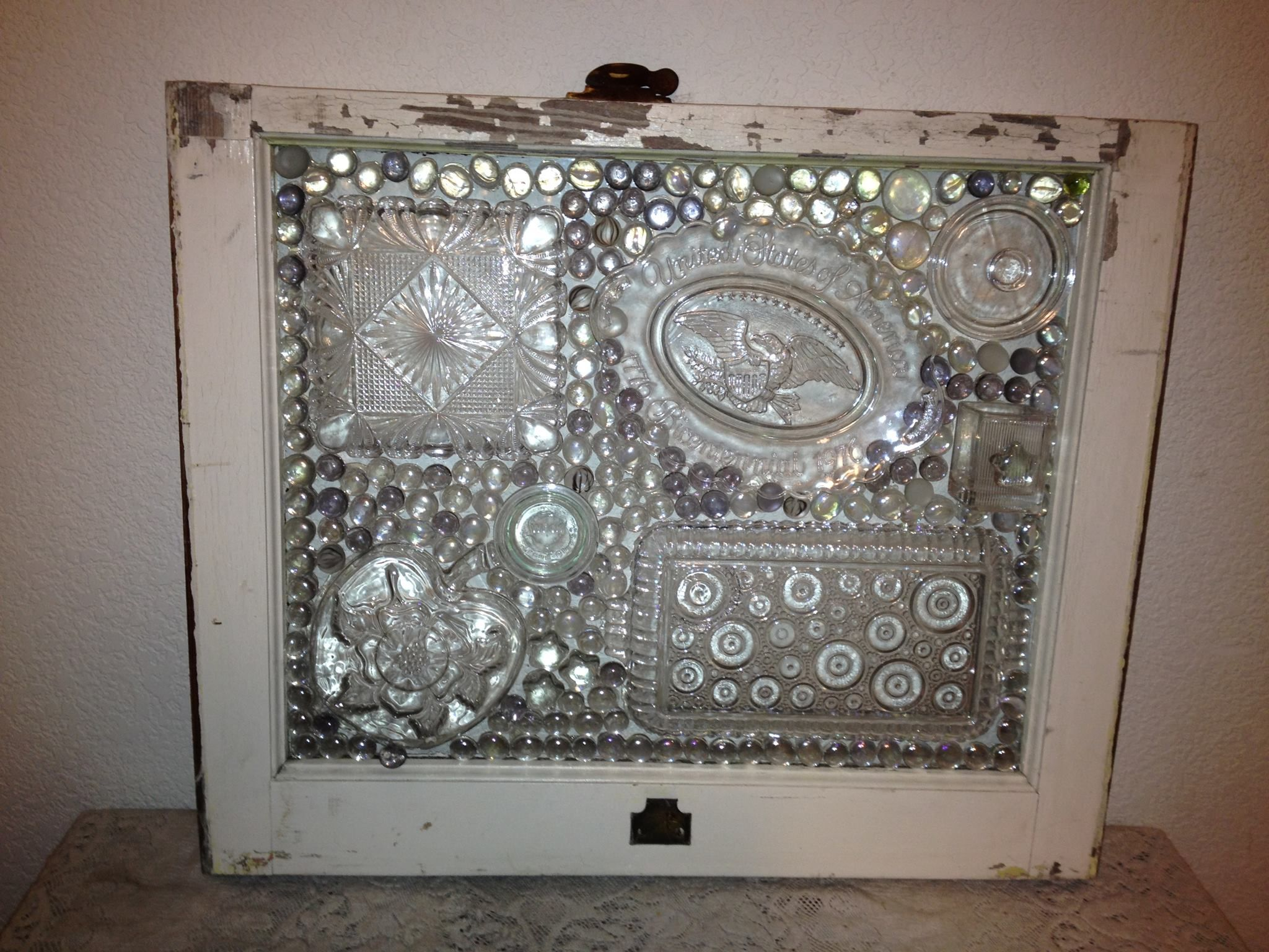 Pin by Janice Griggs on Craft Ideas  Glass window art, Broken