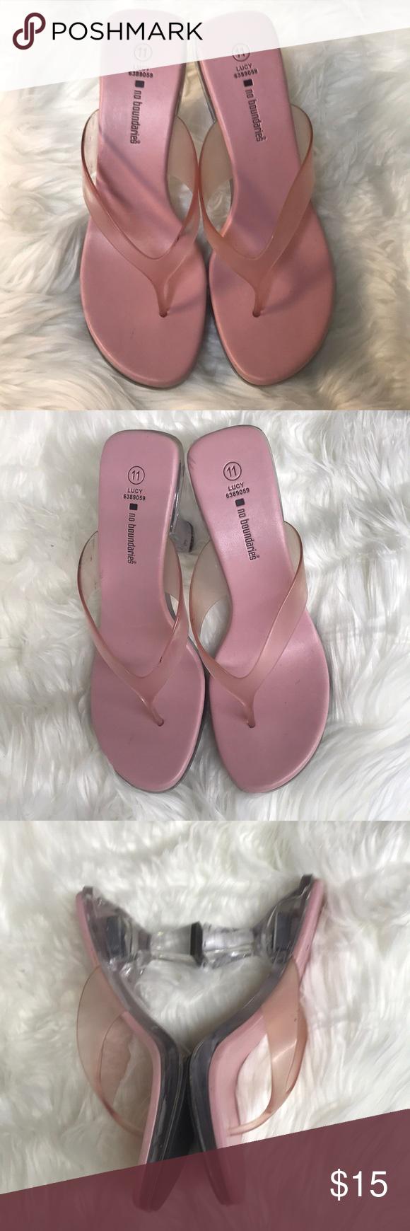 New Pink Light Up ~ No Boundaries Heel