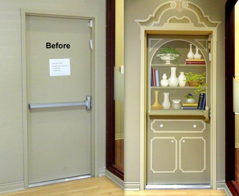 Alzheimers activities & This door was a beacon to exit until it became a quite charming ...
