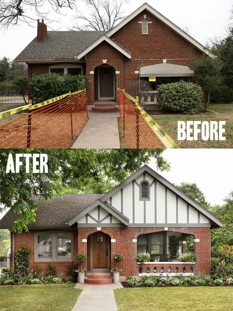 #exterior #Gaines #house #Joanna #Renovations