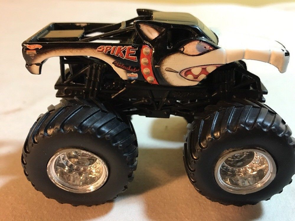 Rare Hot Wheels Monster Jam Spike 1 64 Diecast Monster Truck Nice Hot Wheels Monster Jam Monster Trucks Monster Jam