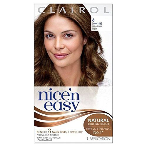 Nice N Easy Hair Dye Natural Light Brown 6 Pack Of 4 Check Out The Image By Visiting The Link Permanent Hair Color Nice N Easy Hair Color Hair Color