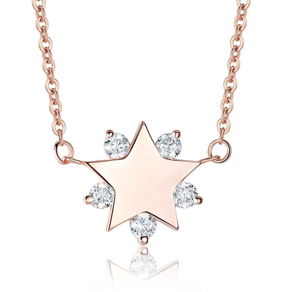 jb pear pendant star shape diamond products