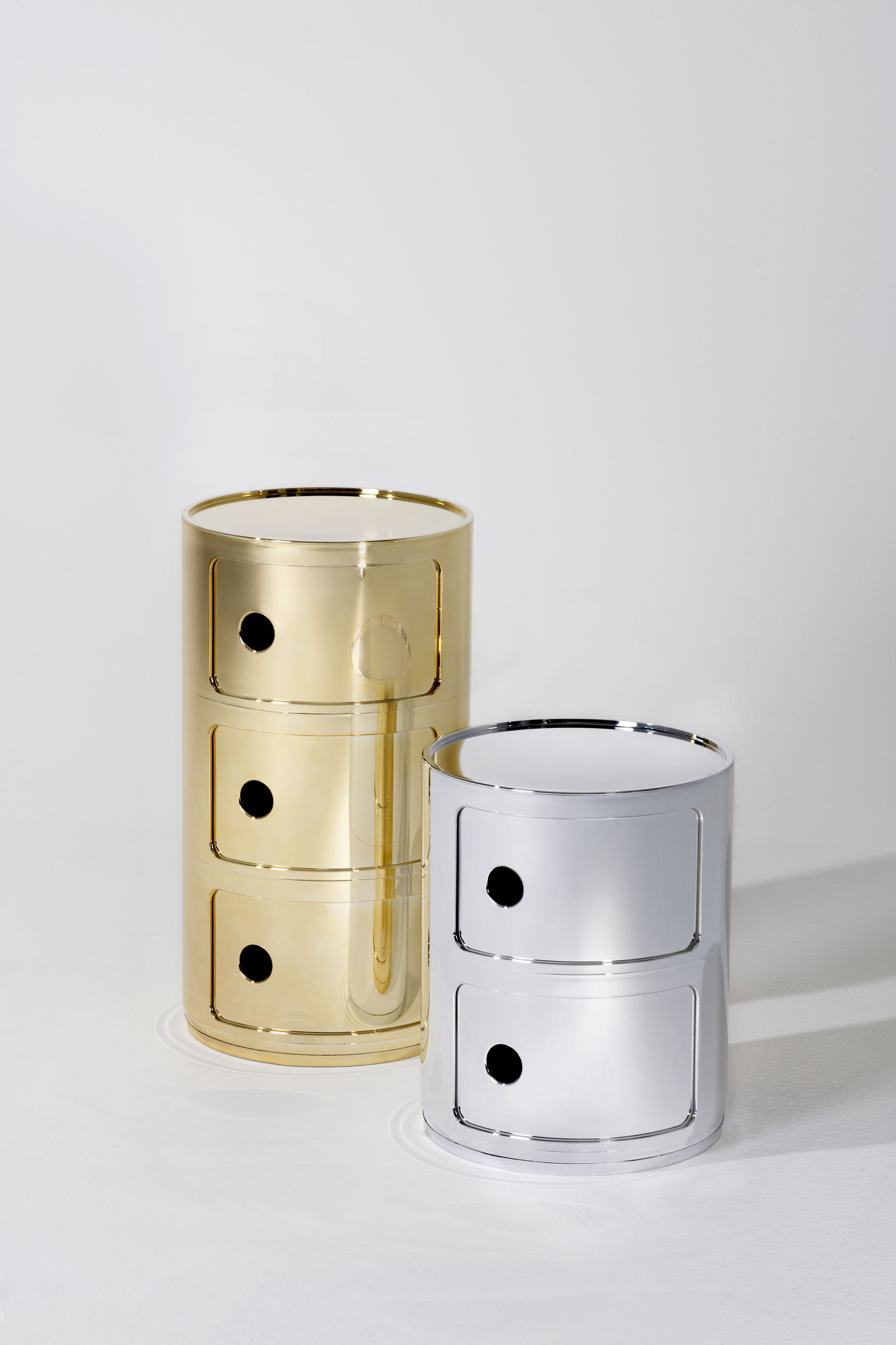 Kartell Container Mettalics Are Definitely Trending In Fashion Design Kartell