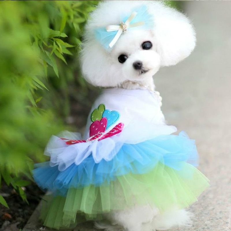 2016 New Cheap Dog Clothes for Small Dog Dress Pet Cat Puppy ...