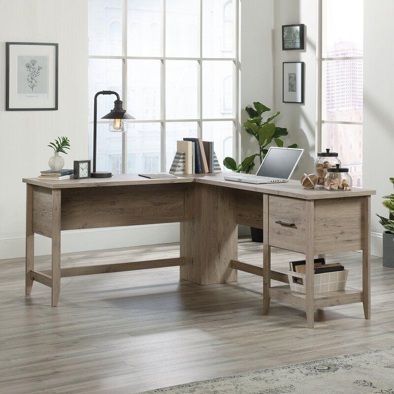 Cletus L-Shape Executive Desk In 2020