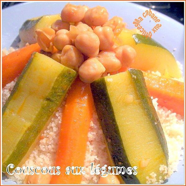 La Cuisine De Djouza: Couscous Algérien Aux Légumes