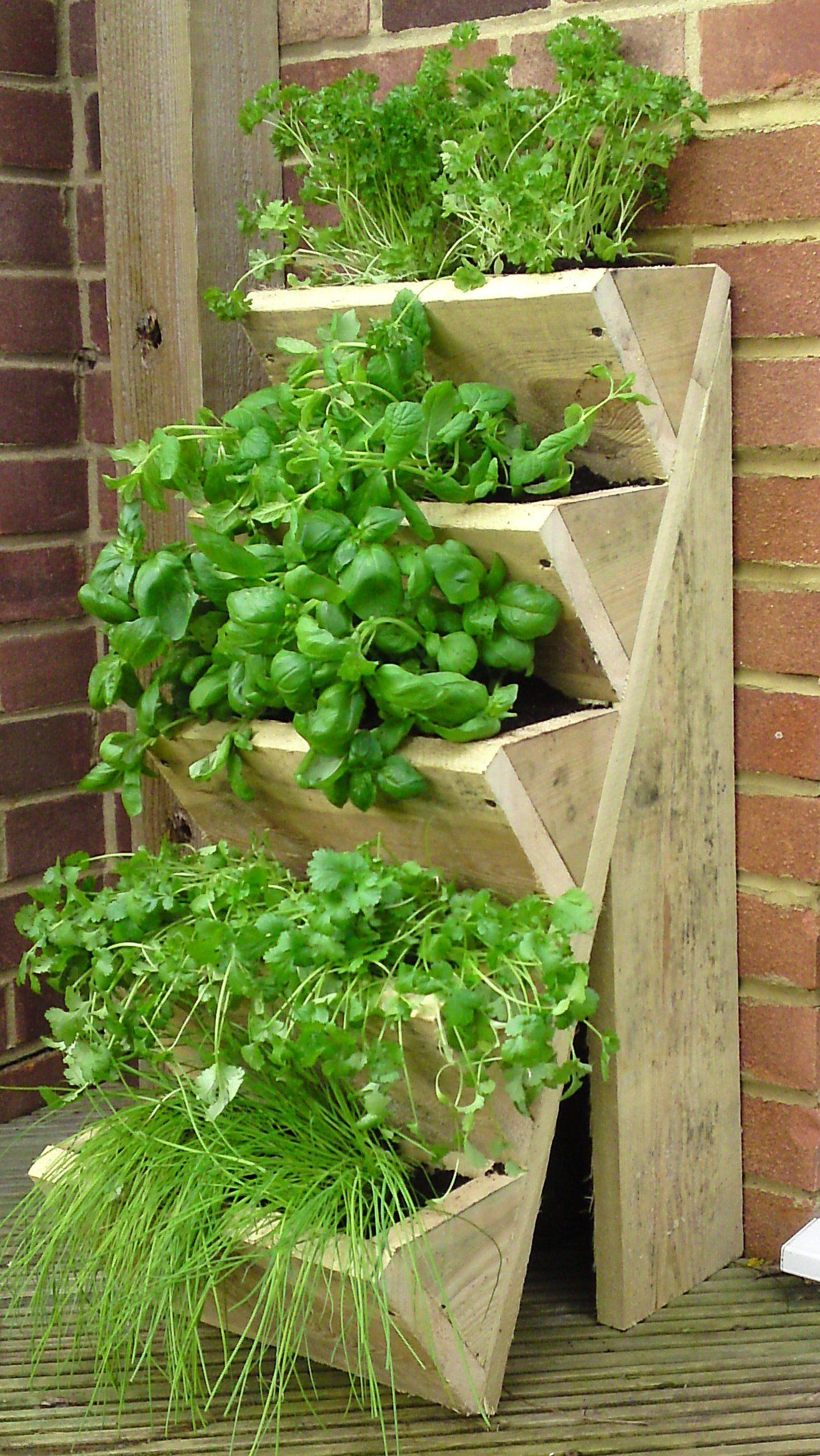 Planter For Herbs Five Tiered Herb Planter Amazon Co Uk Garden Outdoors