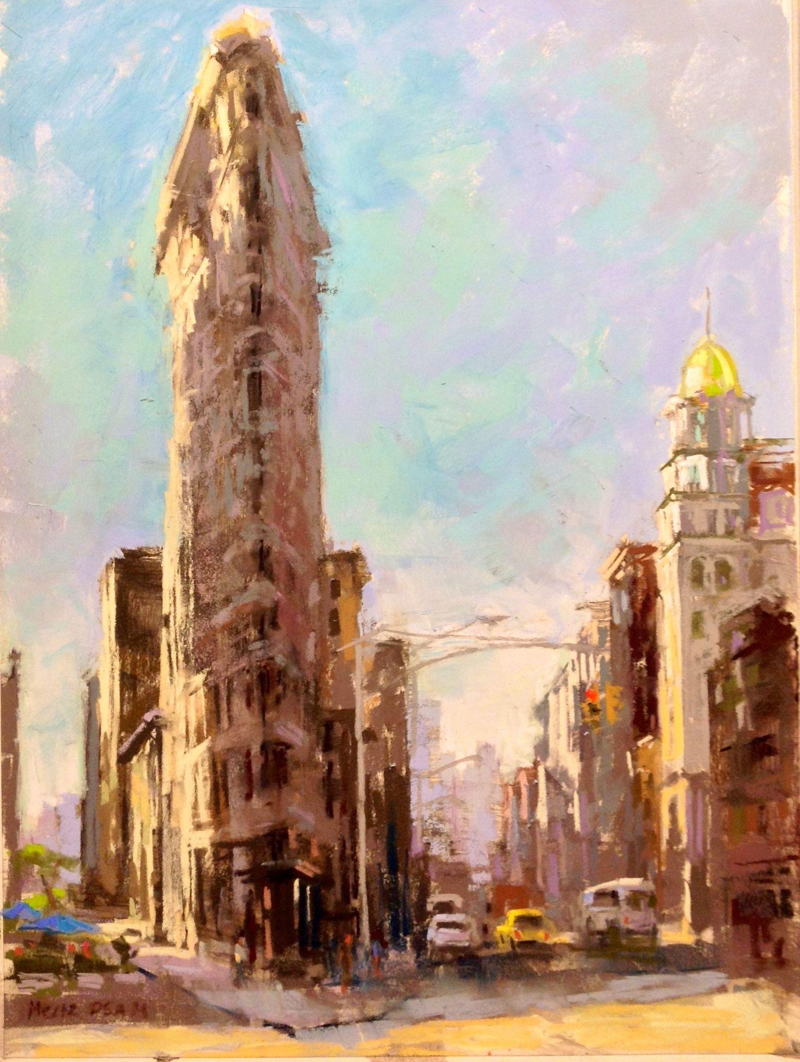Nancie King Mertz Urban Architectural Pastel Painter