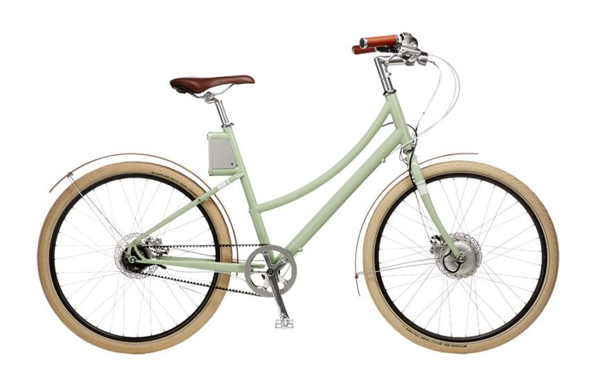 Cortland Step Through Electric Bike Electric Bikes For Sale Electric Bike Commuter Bicycle