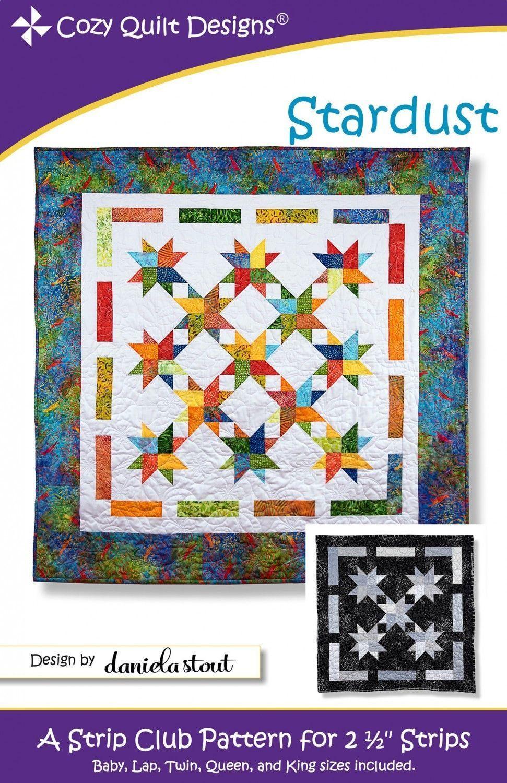 Ideal Cut Cozy Quilt Designs Strip Club Pattern Includes ...