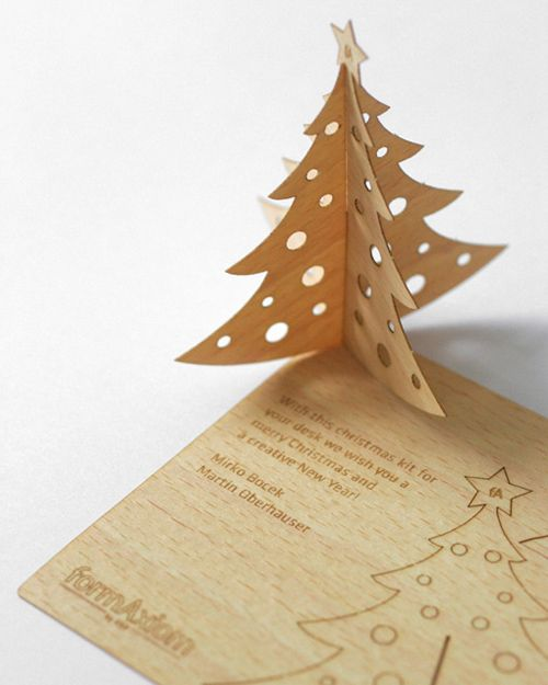 25 Unconventional Wooden Business Cards Inspirationfeed Wood Business Cards Wooden Business Card Christmas Wood
