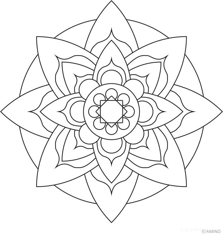 Easy Mandala Designs With Colour Valoblogi Com