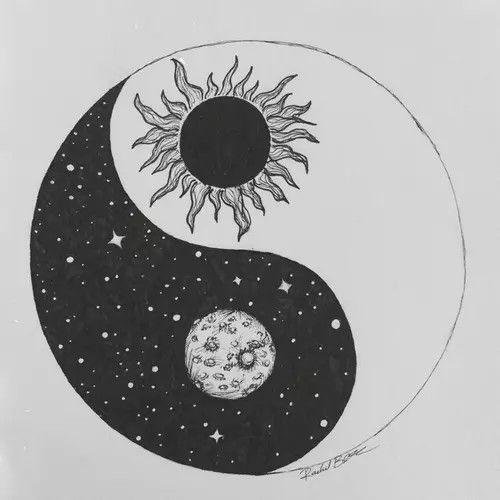 Jin Jang Art Art Drawings Yin Yang Art