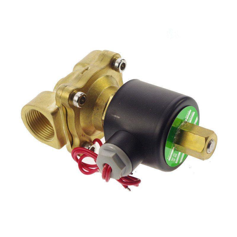 Electric Solenoid Valve Water Air N O Ac220v 3 4 Normally Open Type Stuff To Buy Oils Valve