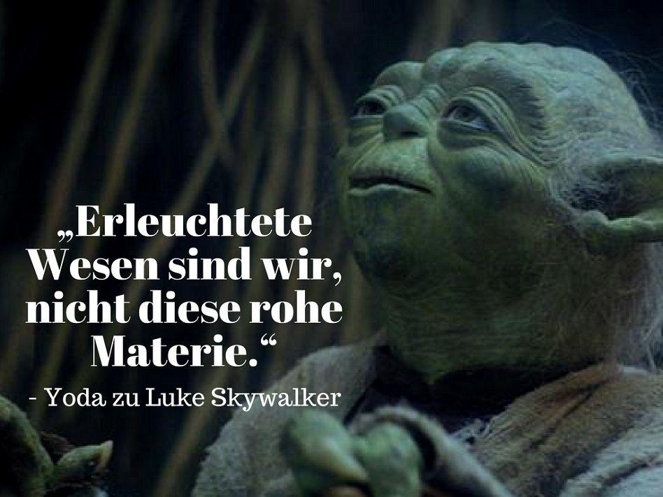Pin von U. Vorbeck auf Joda | Yoda sprüche, Star wars