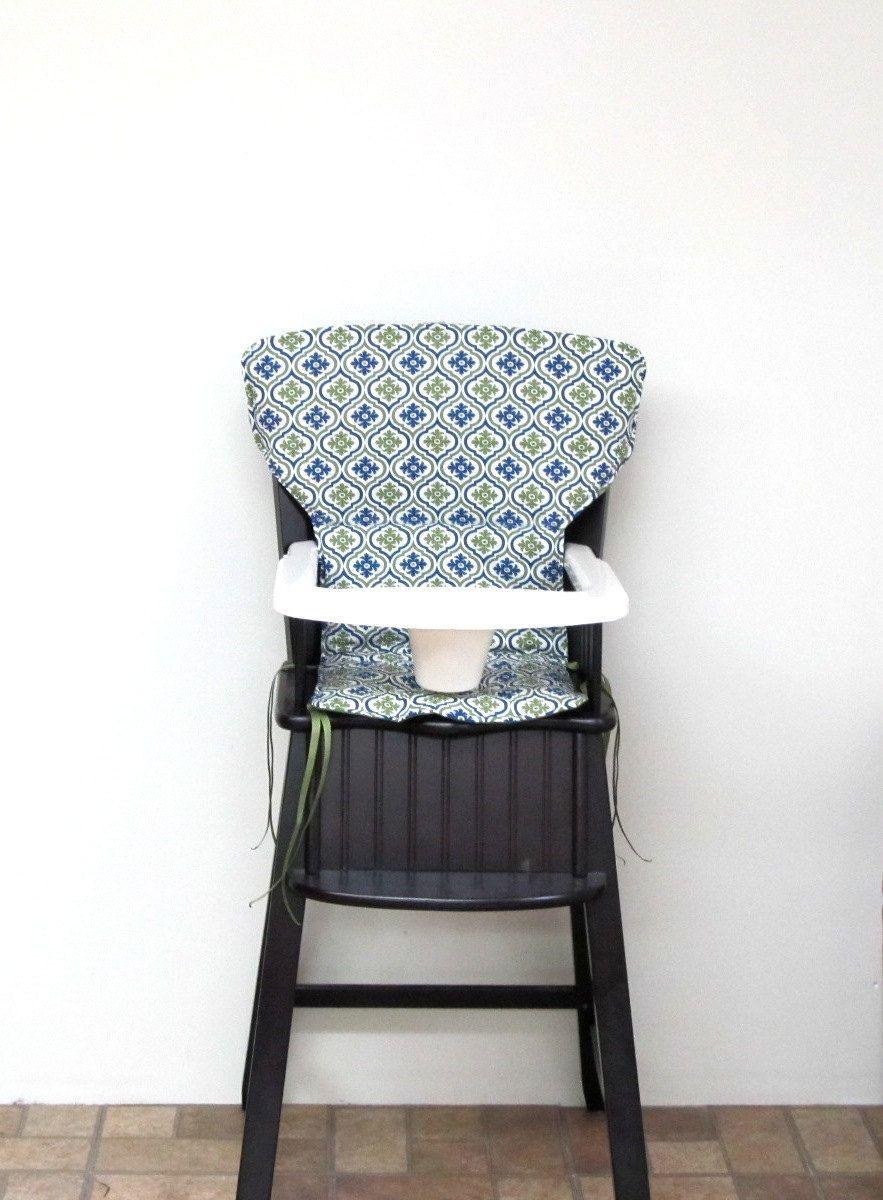 Newport style Eddie Bauer cushion, safety 1st wooden
