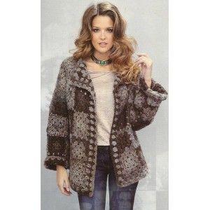 modele tricot manteau femme gratuit