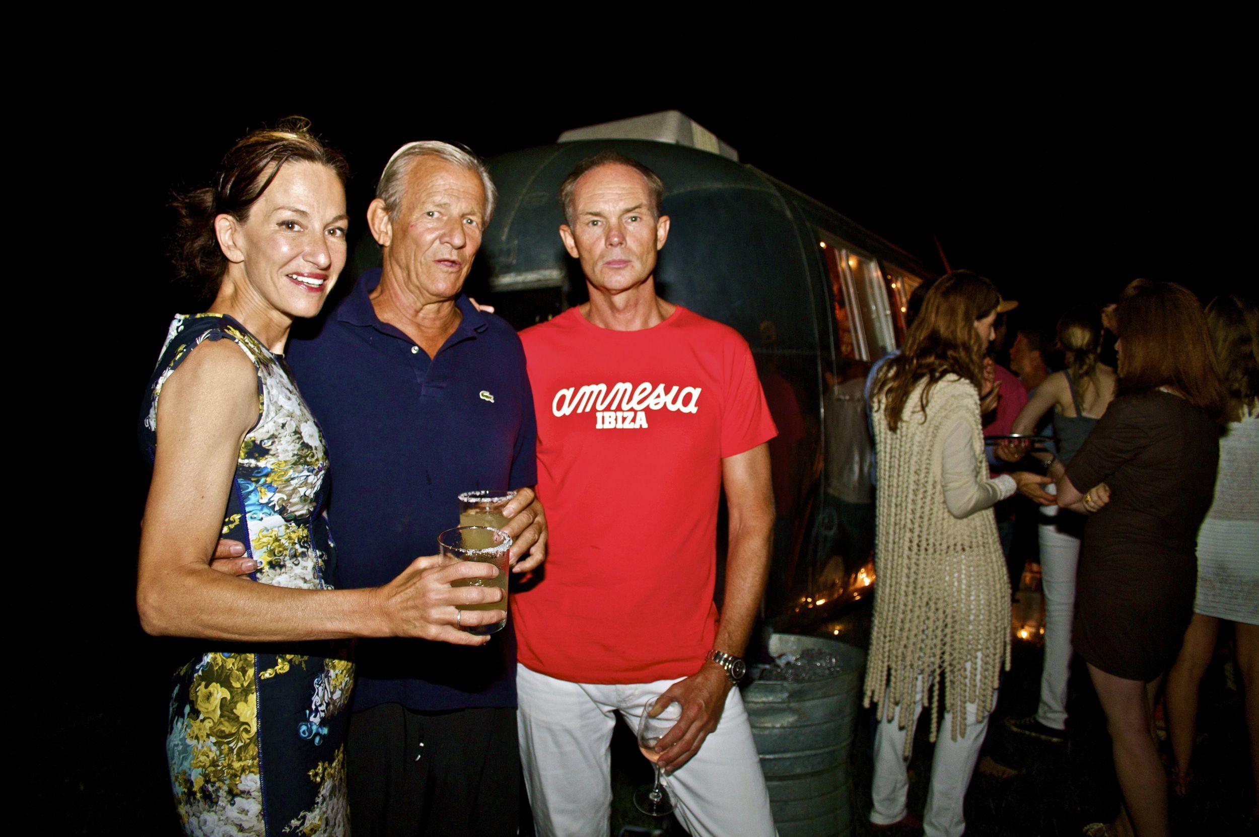 Cynthia Rowley, Petter Beard & friends in Montauk, NY Summer 2012