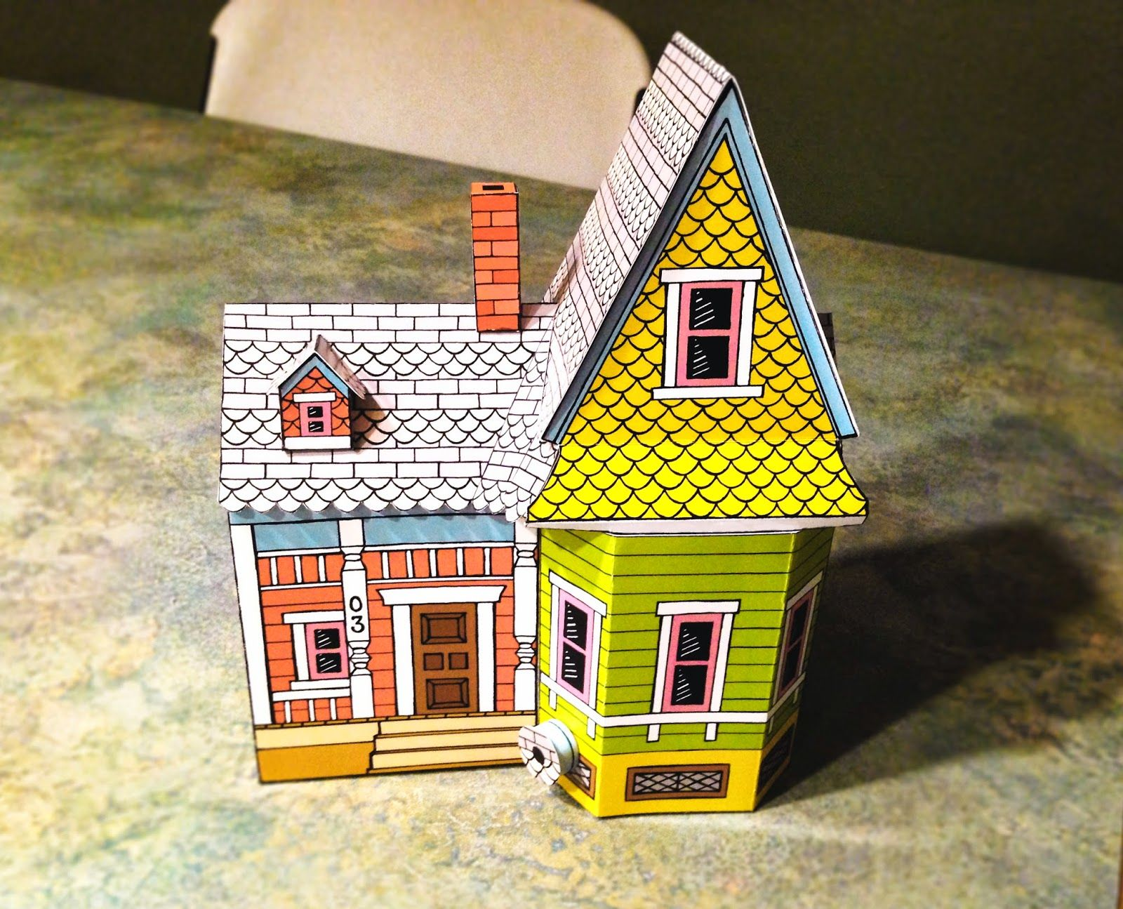 image about House From Up Printable referred to as Pin upon disney