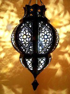 Orient Marokko Mediterrane Deckenleuchten Haengelampen Lampen  Leuchten Laternen