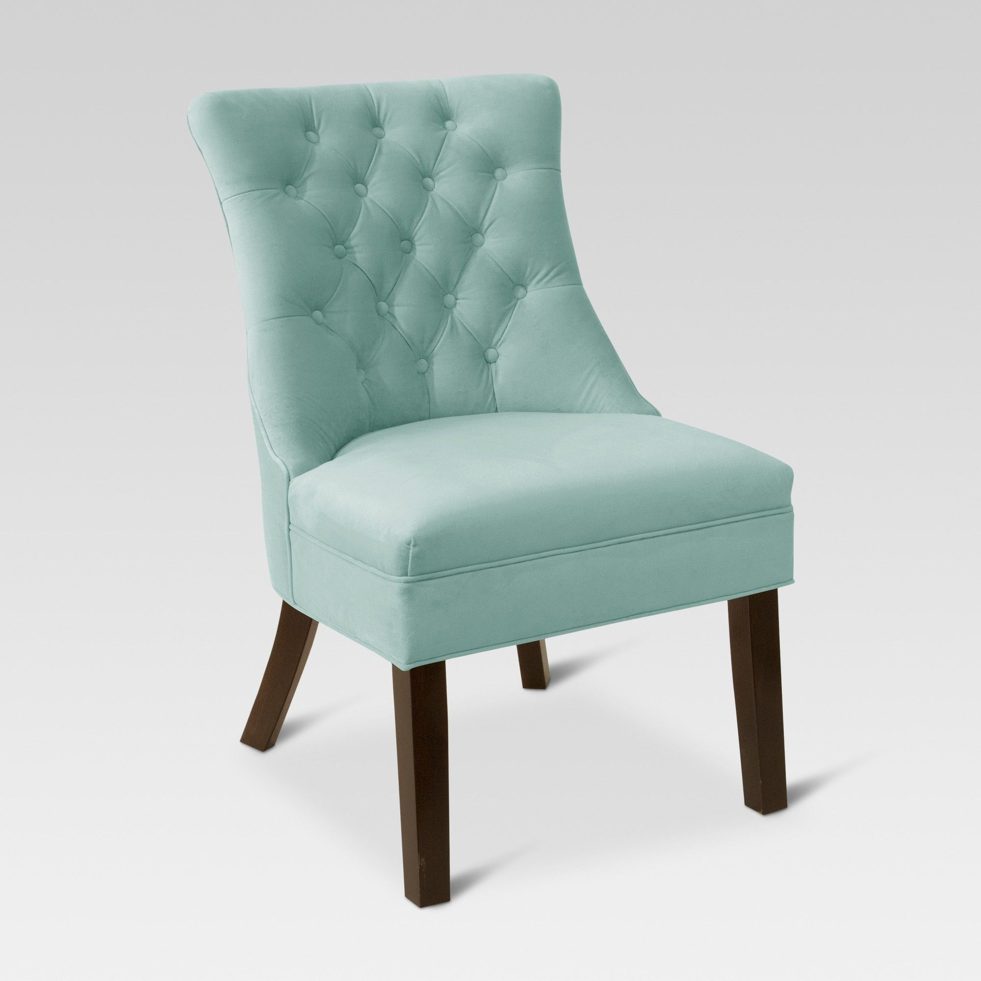 Best Accent Chairs Teal Threshold Blue Velvet Accent 400 x 300