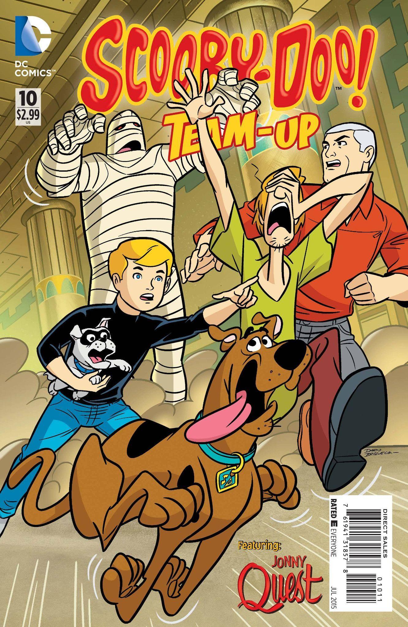 Scooby Doo Team Up 10