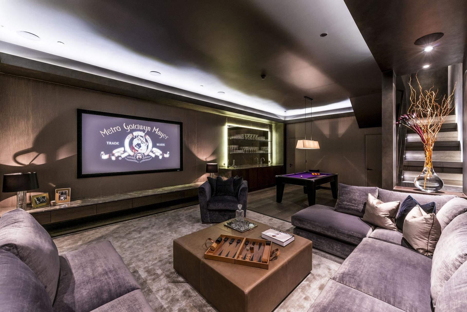 Media Room Project Townhouse Designs House New Homes For Sale